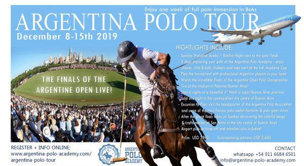Argentina Polo Tour 2019 High Goal Polo in Buenos Aires