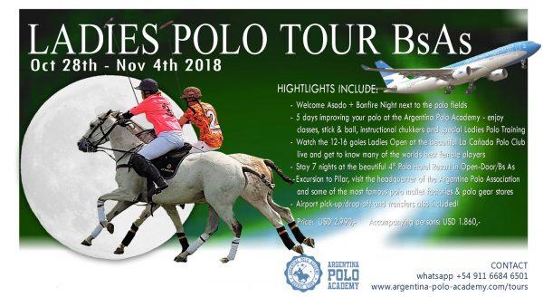 Ladies Polo Tour Buenos Aires November 2018