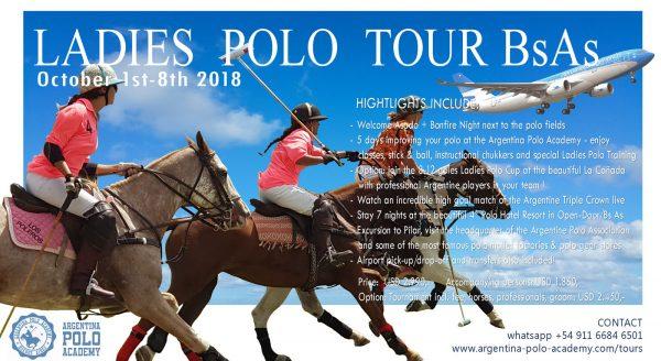 Ladies Polo Tour Buenos Aires Argentina