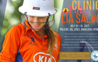 Polo clinic with Lia Salvo at the Argentina Polo Academy Europe