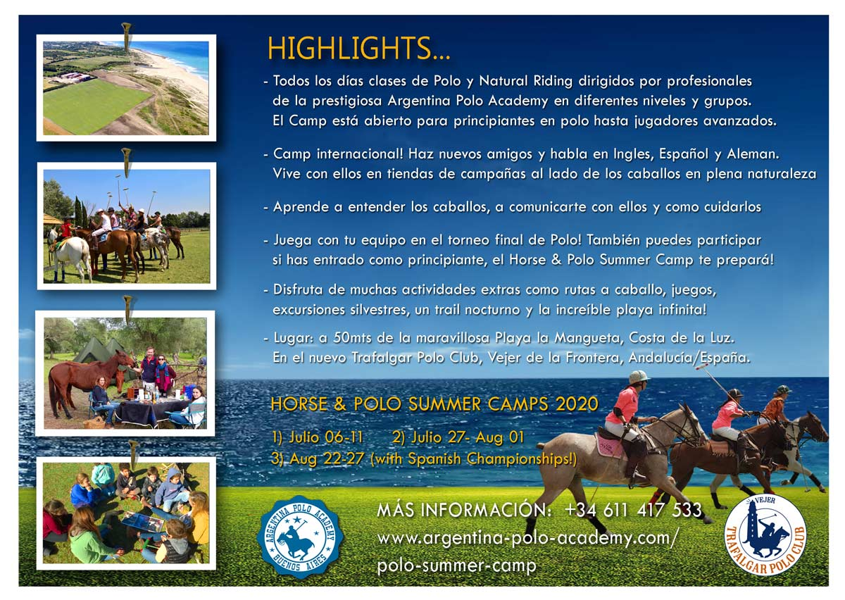 Y Summer Camp 2020.Polo Summer Camp 2020 Web 2 Argentina Polo Academy