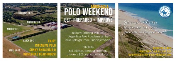 Polo-Training-Weekend at the Argentina Polo Academy in Andalucia/Spain