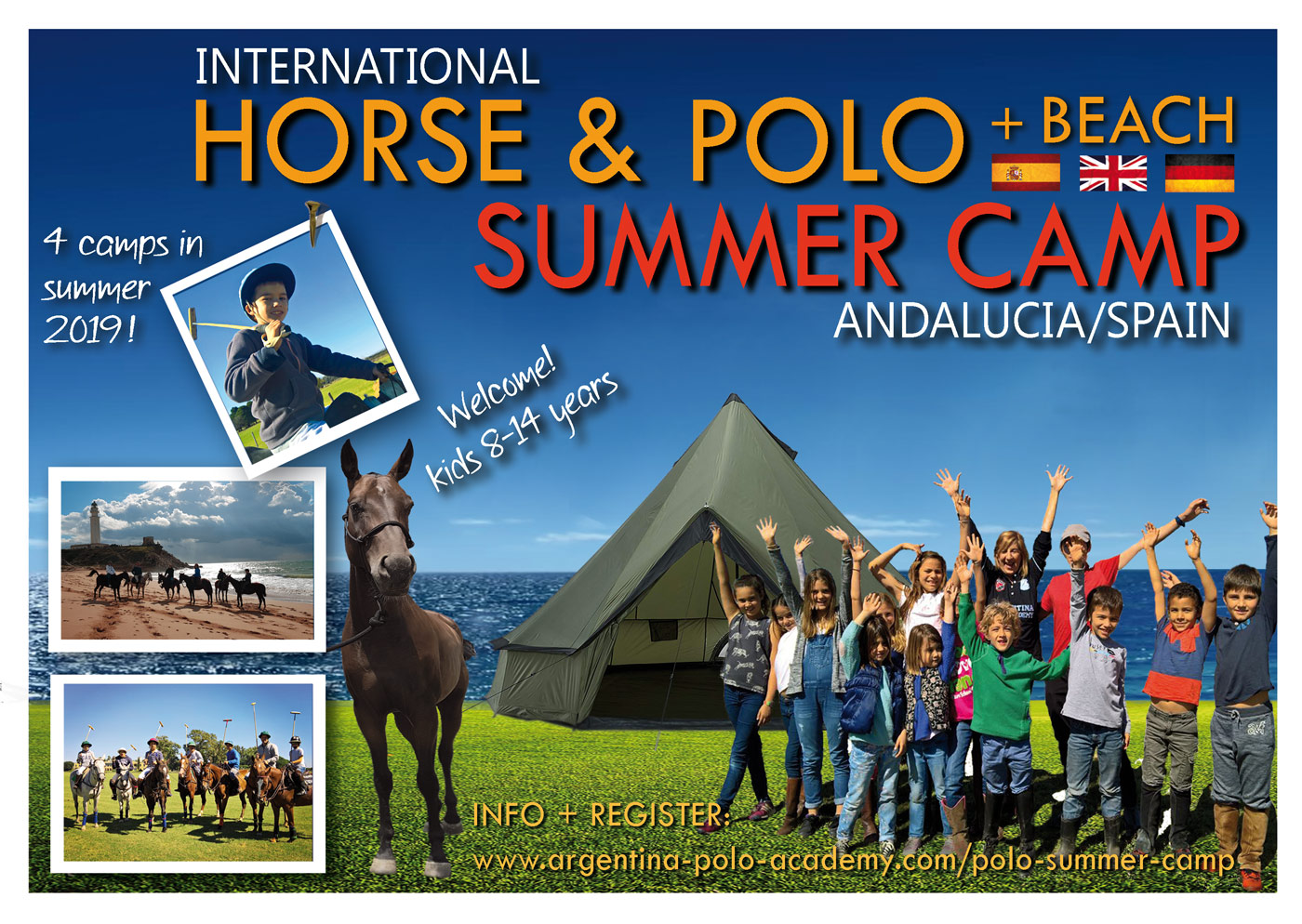 Horse & Polo Summer Camp 2019 Andalucia Spain