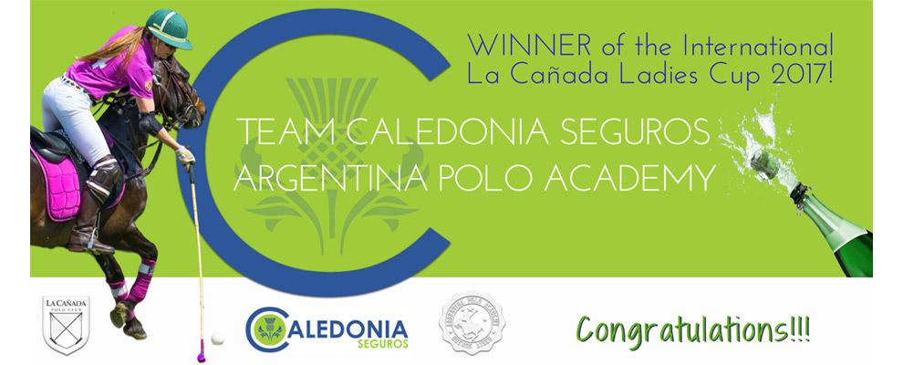 Official Sponsor Ladies Polo Team Caledonia Seguros